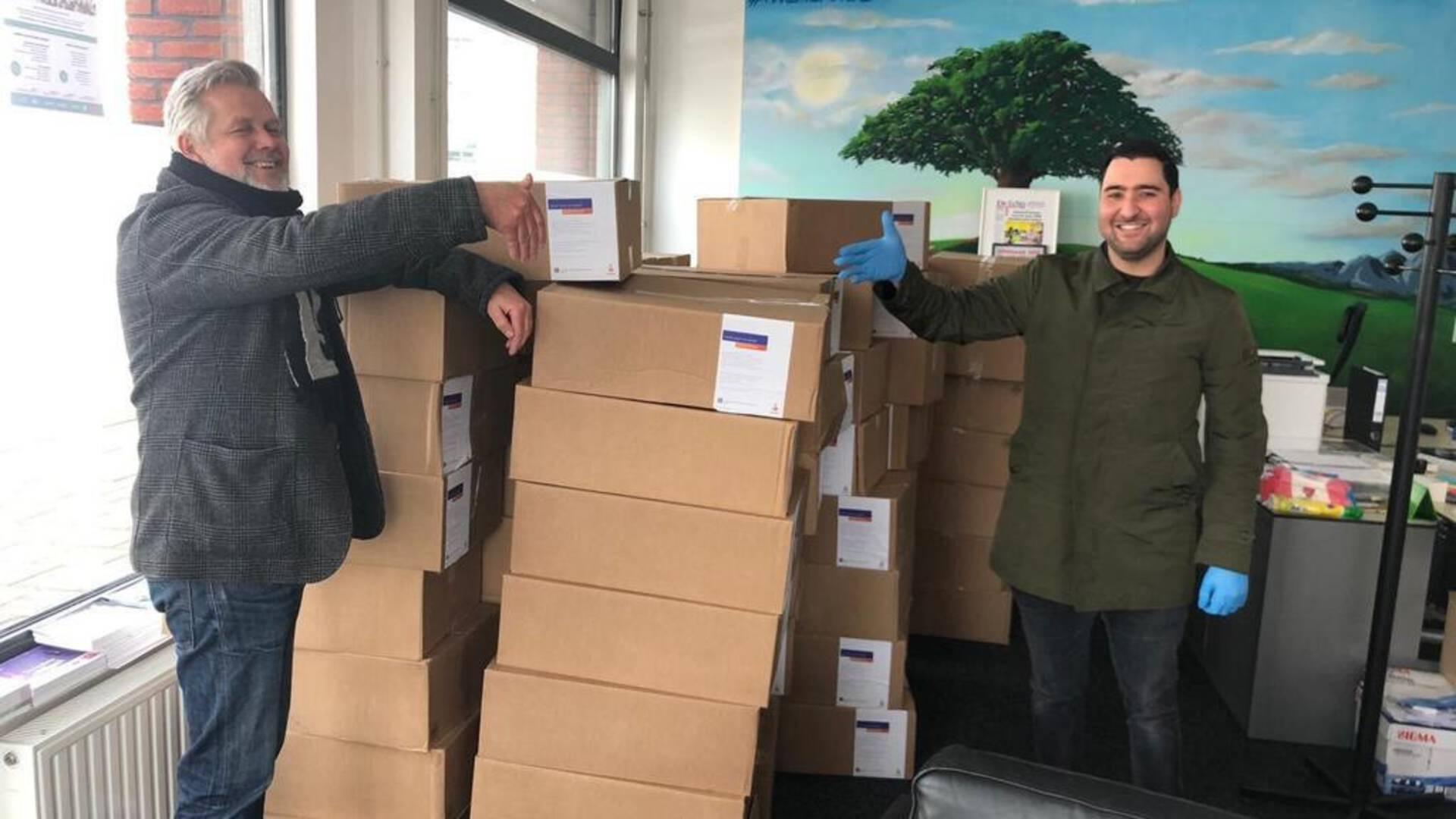 Abdelhamid Idrissi helpt met zijn team honderden Amsterdamse kinderen.